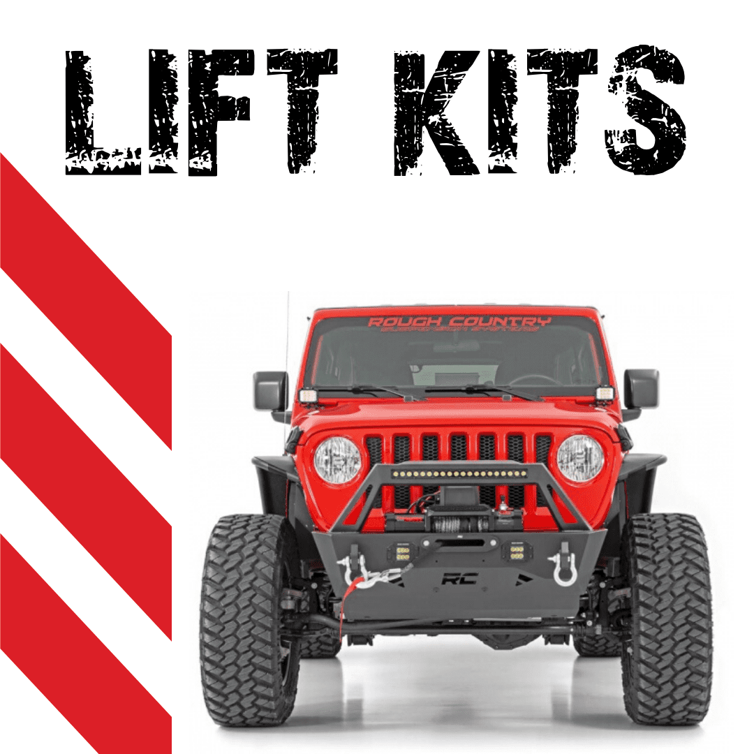redline tire and auto lift kits
