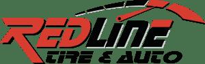 redline tire and auto logo